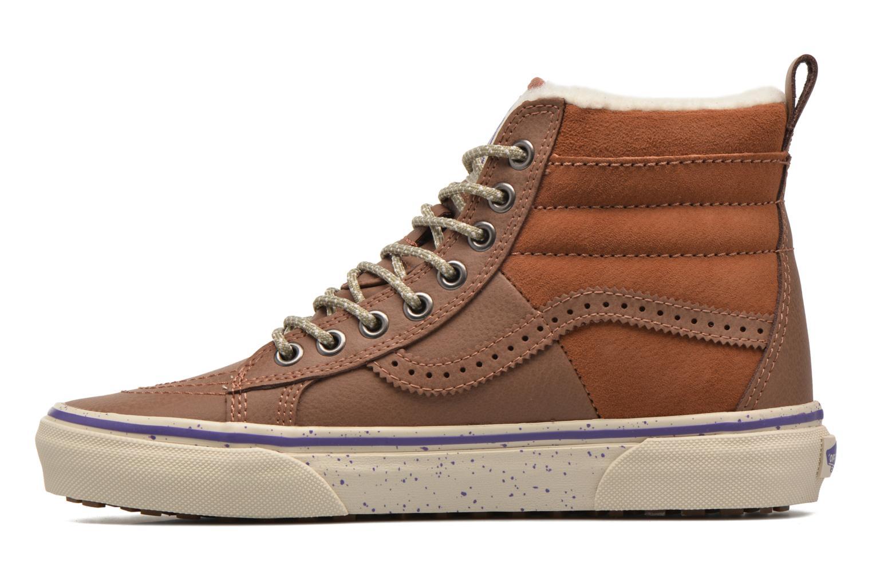 Sneakers Vans SK8-Hi 46 MTE Bruin voorkant