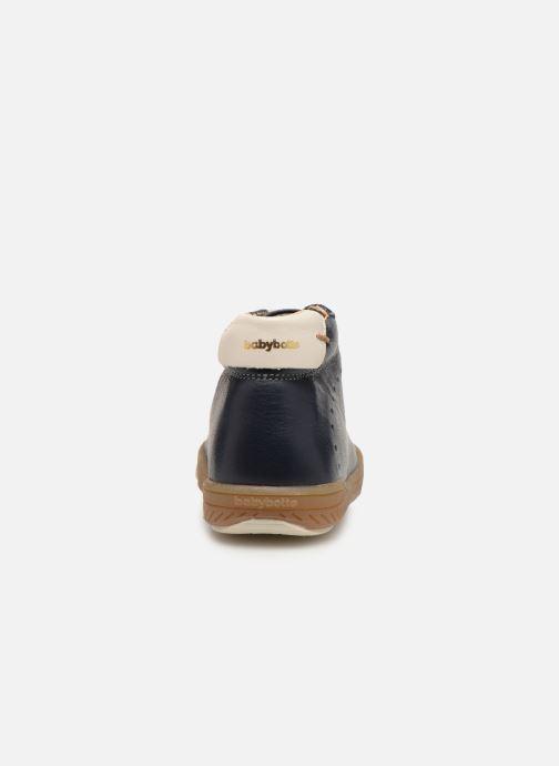 Bottines et boots Babybotte Ankara Bleu vue droite