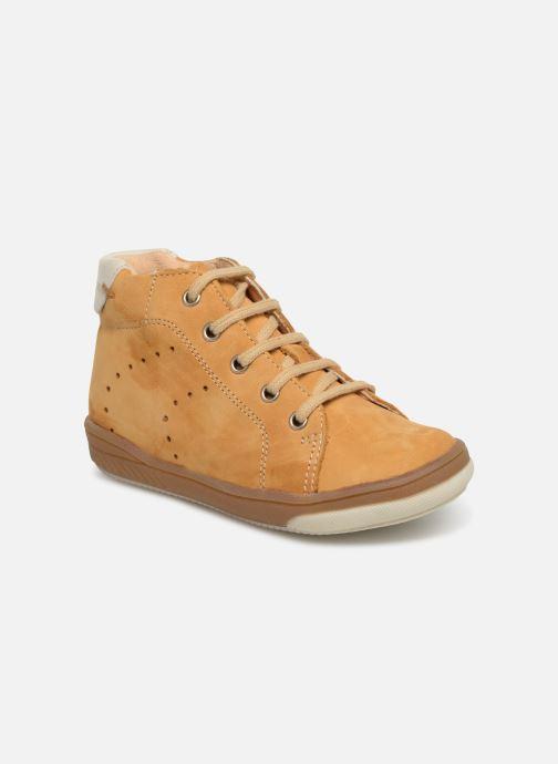 Bottines et boots Babybotte Ankara Jaune vue détail/paire