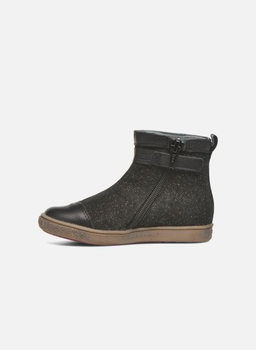Ankle boots Babybotte Ambalaba Black front view