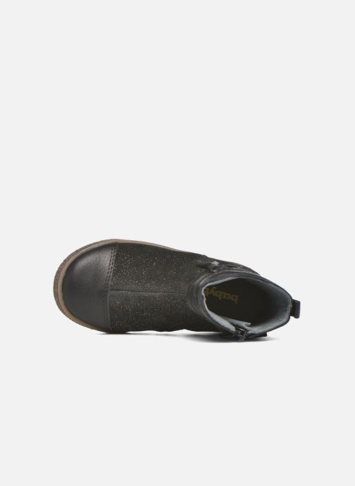 Ankle boots Babybotte Ambalaba Black view from the left