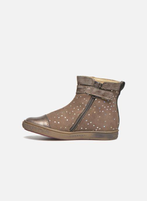 Boots en enkellaarsjes Babybotte Ambalaba Beige voorkant