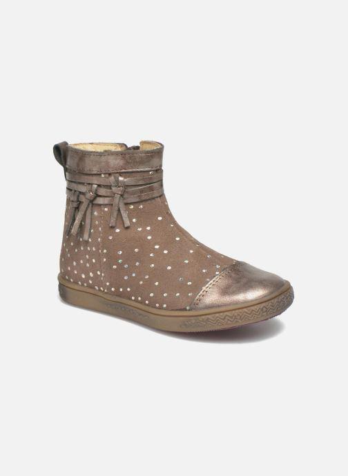 Bottines et boots Babybotte Ambalaba Beige vue détail/paire