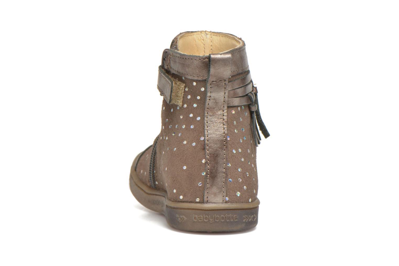 Bottines et boots Babybotte Ambalaba Beige vue droite