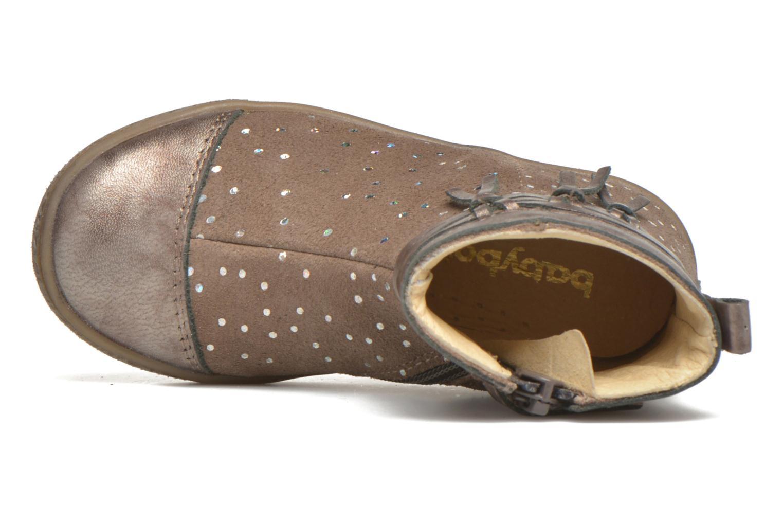 Bottines et boots Babybotte Ambalaba Beige vue gauche