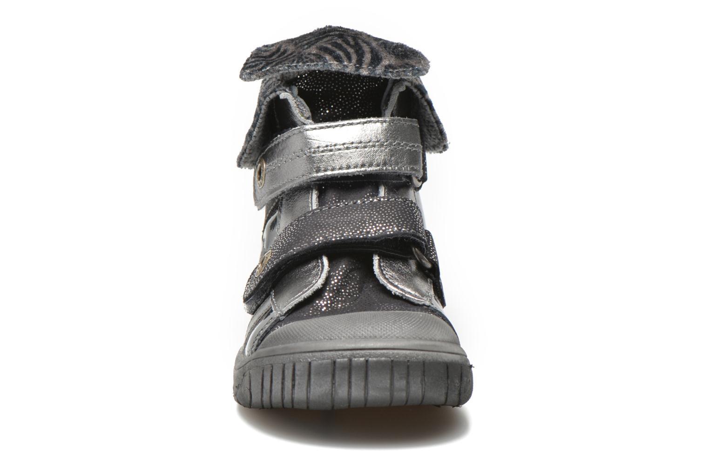 Chaussures à scratch Babybotte Acteur5 Gris vue portées chaussures