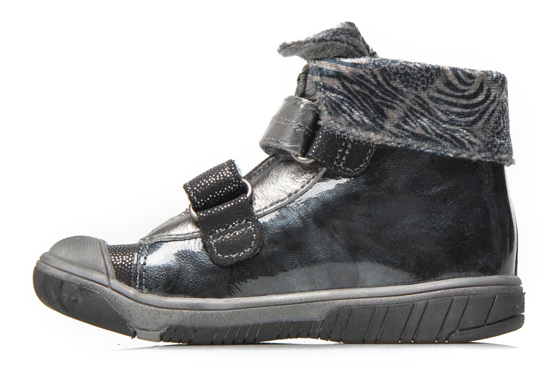 Chaussures à scratch Babybotte Acteur5 Gris vue face