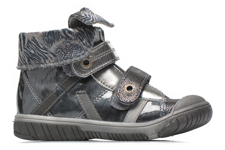 Chaussures à scratch Babybotte Acteur5 Gris vue derrière