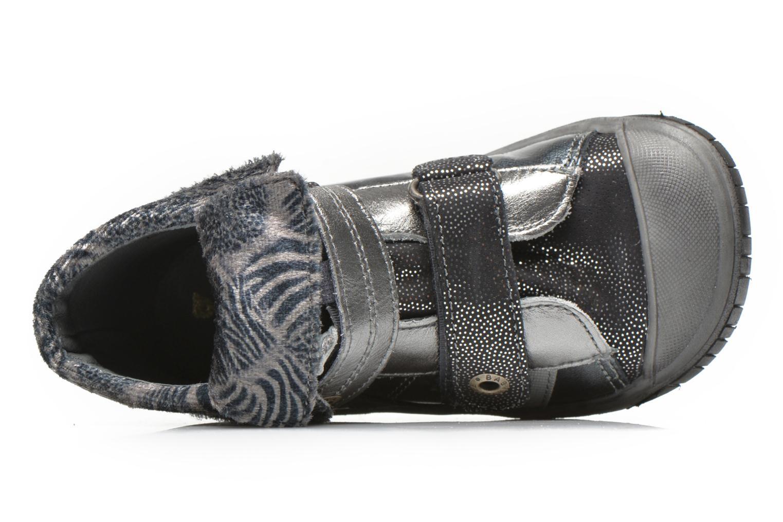 Chaussures à scratch Babybotte Acteur5 Gris vue gauche