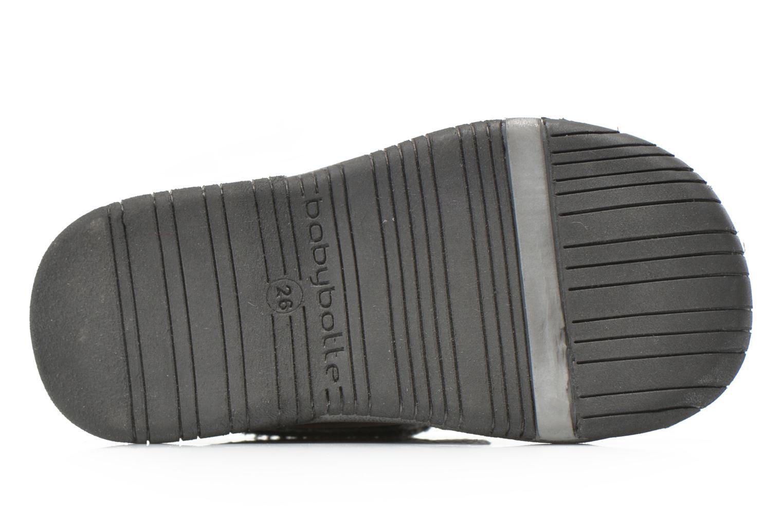 Chaussures à scratch Babybotte Acteur5 Gris vue haut
