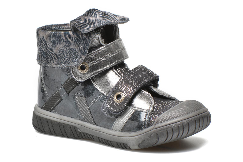 Chaussures à scratch Babybotte Acteur5 Gris vue détail/paire