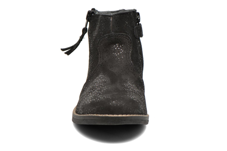 Bottines et boots Babybotte Kimono Noir vue portées chaussures