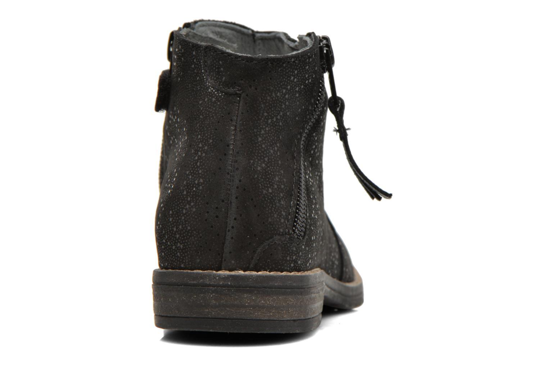 Bottines et boots Babybotte Kimono Noir vue droite