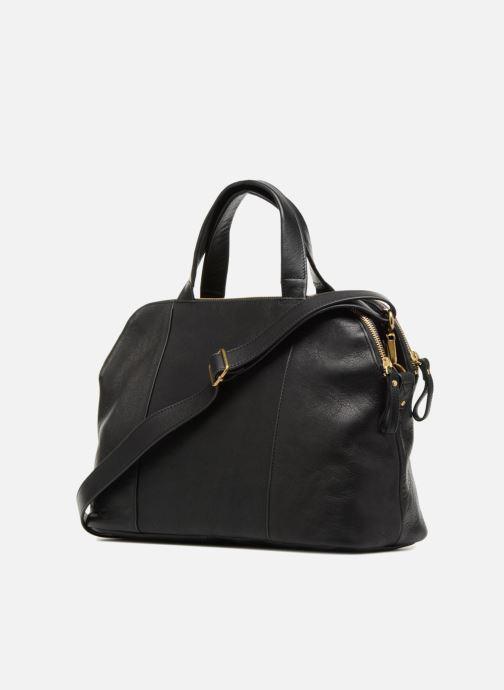 Handtaschen Nat & Nin Jeanne schwarz ansicht von rechts
