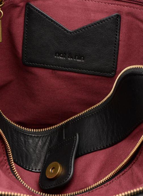 Handtassen Nat & Nin Jeanne Zwart achterkant