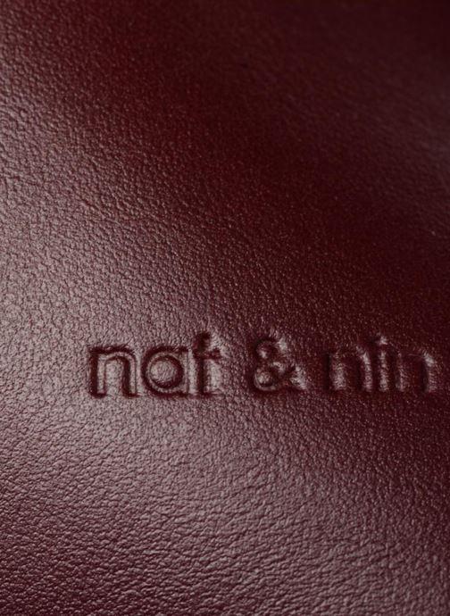 Sacs à main Nat & Nin Jeanne Bordeaux vue gauche