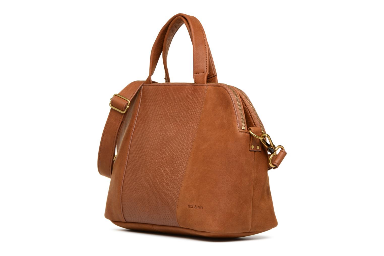 Handtaschen Nat & Nin Jeanne braun schuhe getragen