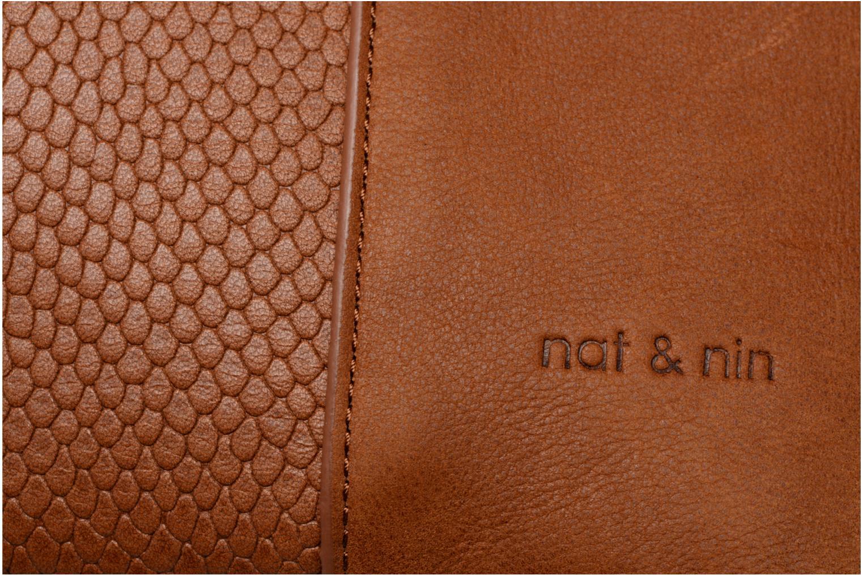 Handtaschen Nat & Nin Jeanne braun ansicht von links
