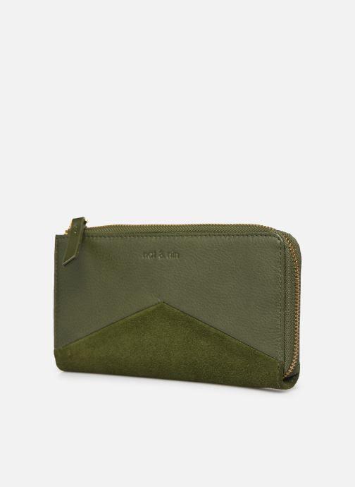 Portemonnaies & Clutches Nat & Nin Linn grün schuhe getragen