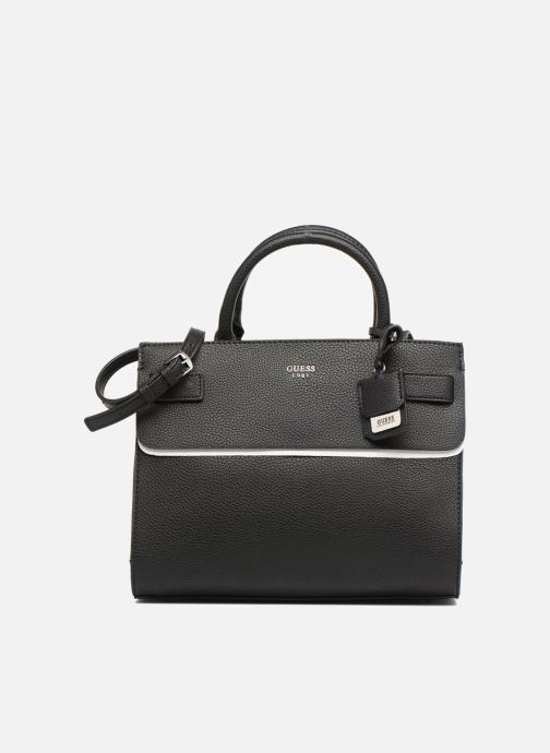Guess Cate Satchel Black en noir | fashionette
