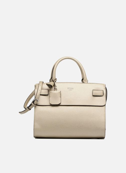 3b747376e9 Guess Cate satchel (Bronze and Gold) - Handbags chez Sarenza (312670)
