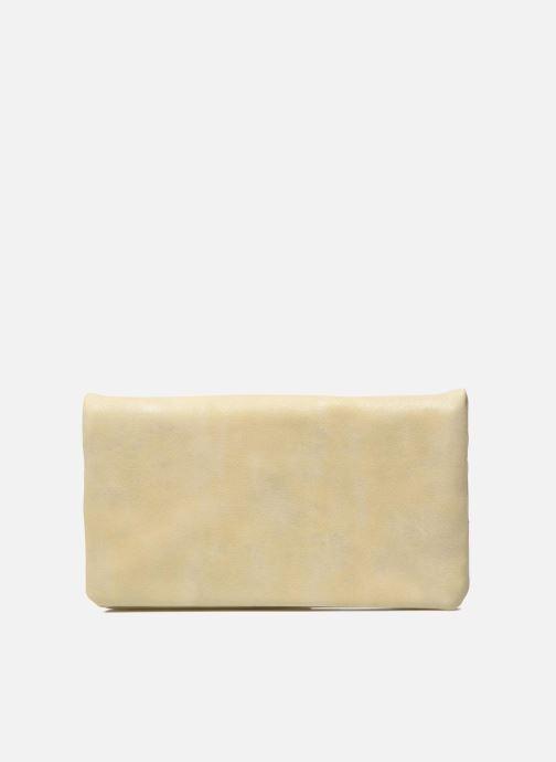 Portemonnaies & Clutches Les P'tites Bombes Portefeuille Brillant beige ansicht von vorne