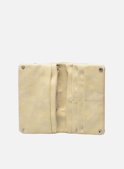 Kleine lederwaren Les P'tites Bombes Portefeuille Brillant Beige achterkant