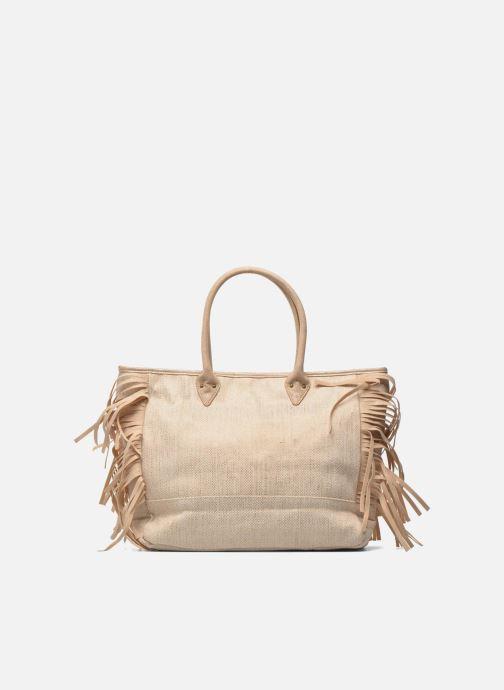 Handbags Les P'tites Bombes Sac à frange Beige front view