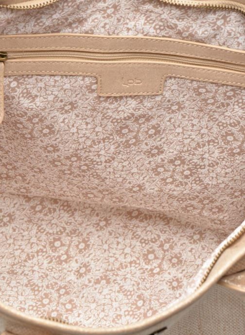 Handbags Les P'tites Bombes Sac à frange Beige back view