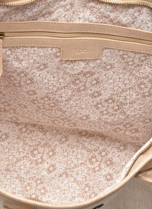Handtaschen Les P'tites Bombes Sac à frange beige ansicht von hinten