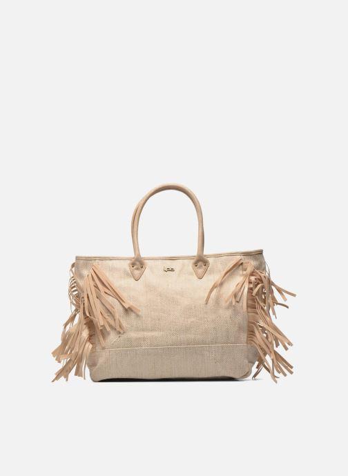 Handbags Les P'tites Bombes Sac à frange Beige detailed view/ Pair view