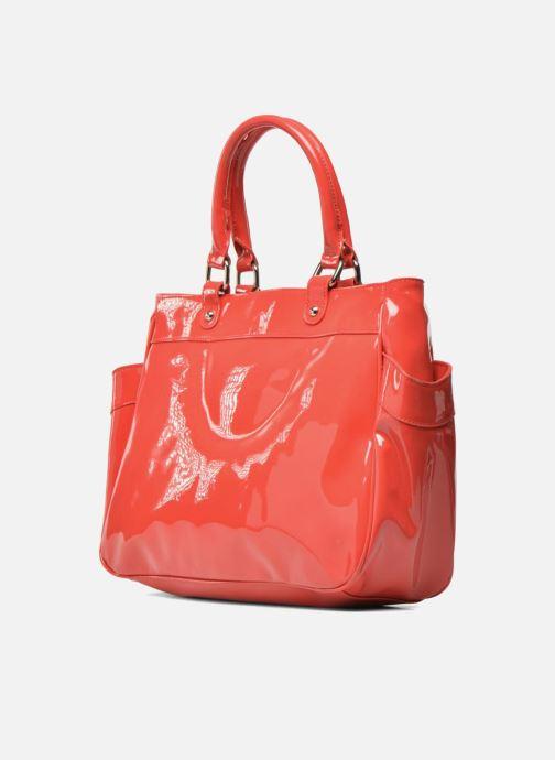 Handtaschen Les P'tites Bombes Sac Vernis rot ansicht von rechts