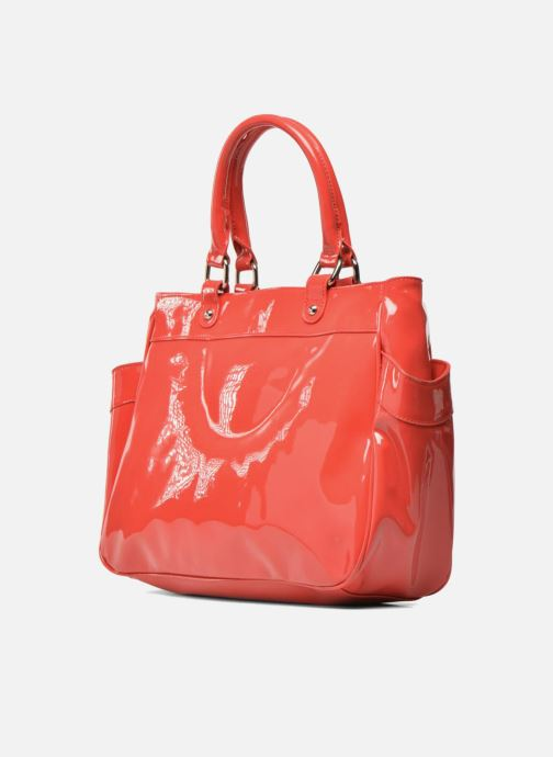 Handbags Les P'tites Bombes Sac Vernis Red view from the right