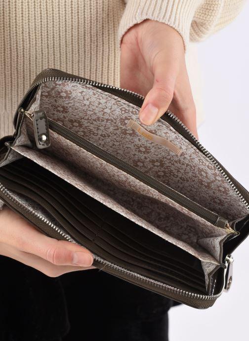 Portemonnaies & Clutches Les P'tites Bombes Compagnon Verni braun ansicht von hinten