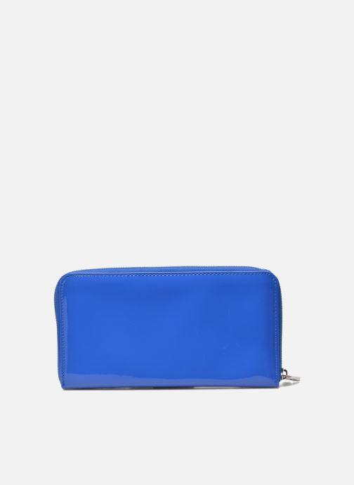 Marroquinería pequeña Les P'tites Bombes Compagnon Verni Azul vista de frente