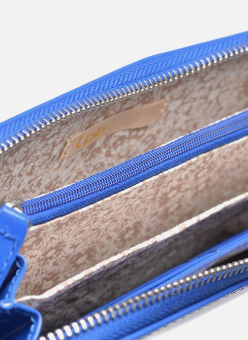 Petite Maroquinerie Les P'tites Bombes Compagnon Verni Bleu vue derrière