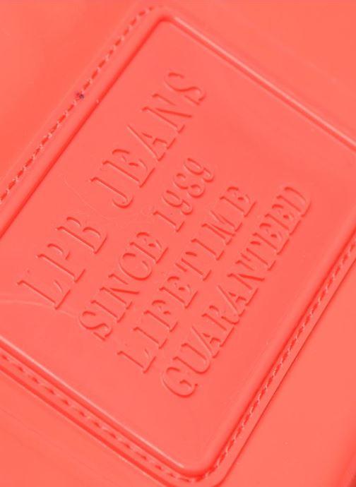 Marroquinería pequeña Les P'tites Bombes Compagnon Verni Rojo vista lateral izquierda