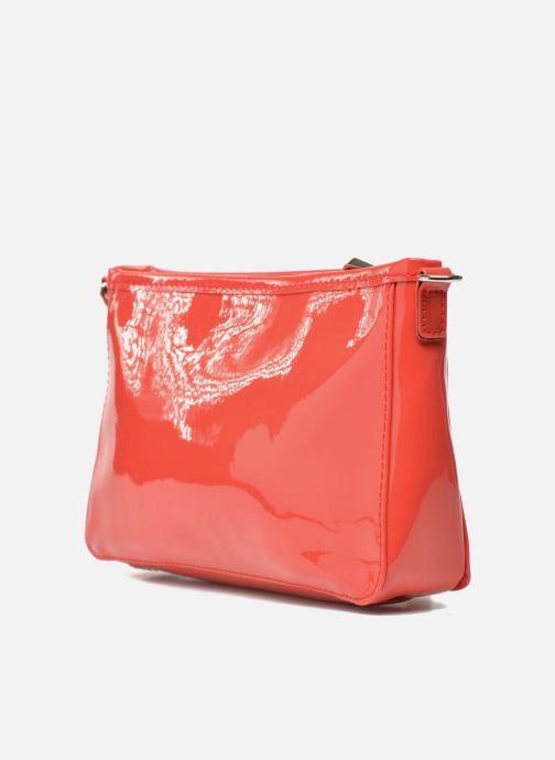 Mini Bags Les P'tites Bombes Pochette Verni rot ansicht von rechts