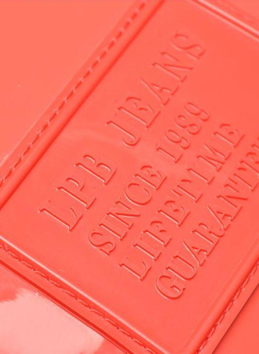 Mini Bags Les P'tites Bombes Pochette Verni rot ansicht von links