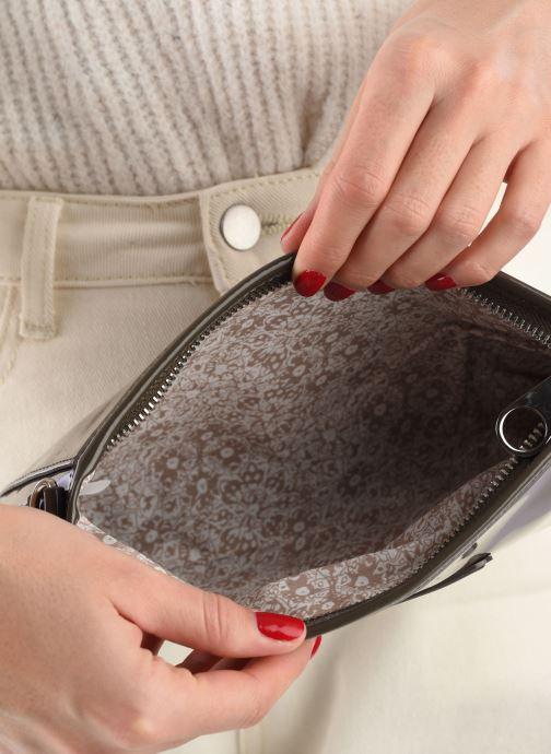 Mini Bags Les P'tites Bombes Pochette Verni braun ansicht von hinten