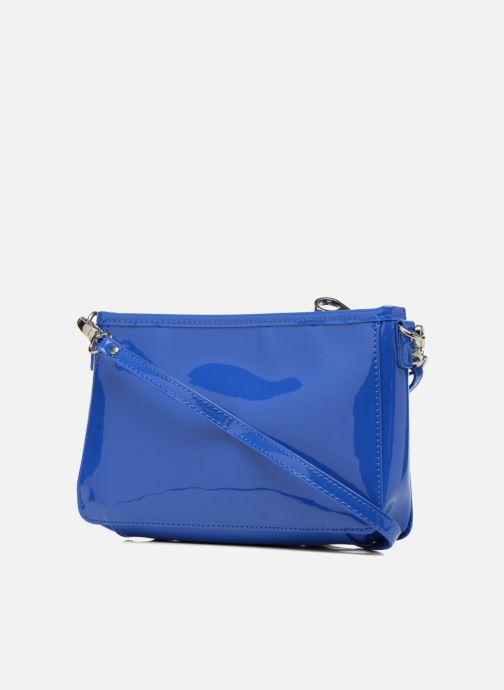 Mini Bags Les P'tites Bombes Pochette Verni blau ansicht von rechts