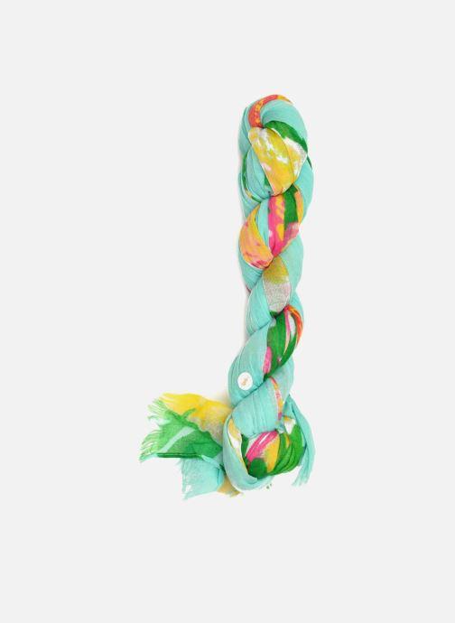 Schal Les P'tites Bombes Schal mit Blumenmuster grün schuhe getragen