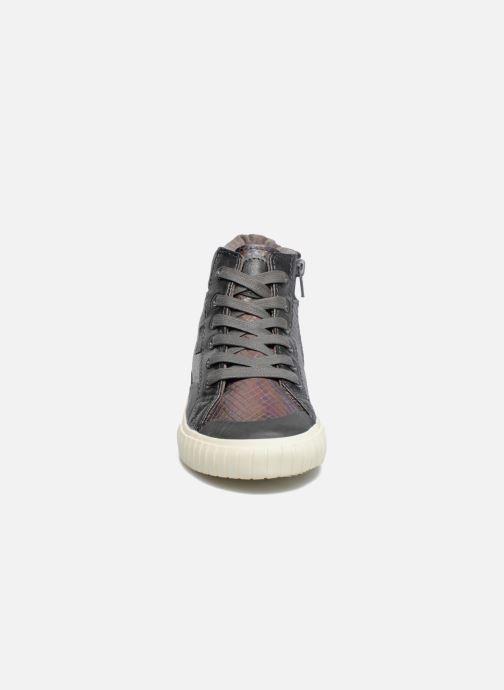 Baskets Victoria Bota Serpiente Argent vue portées chaussures