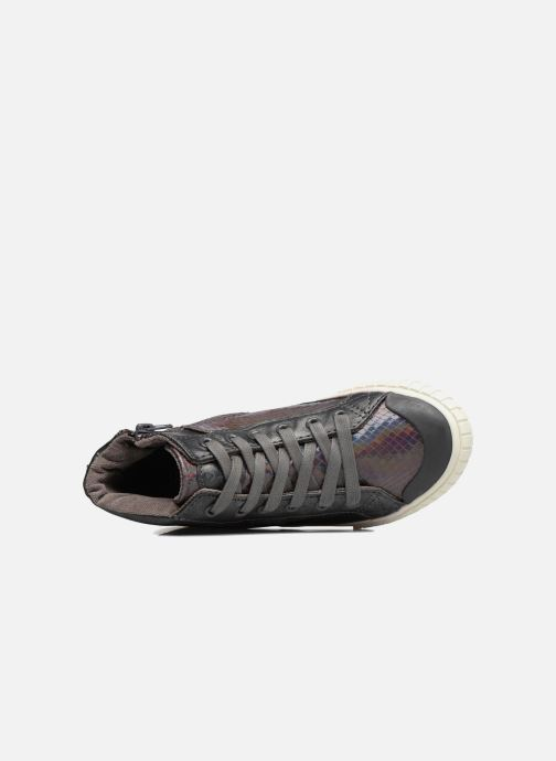 Sneakers Victoria Bota Serpiente Zilver links