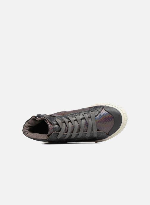 Sneakers Victoria Bota Serpiente Zilver links