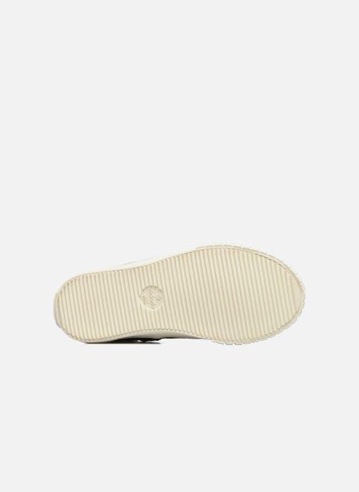 Sneakers Victoria Bota Serpiente Zilver boven