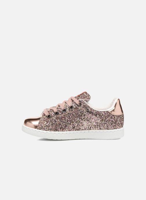 Sneakers Victoria Deportivo Basket Glitter Roze voorkant