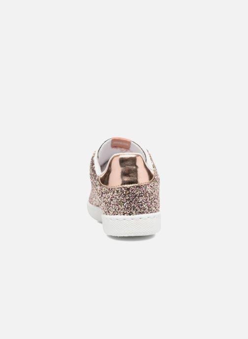 Sneakers Victoria Deportivo Basket Glitter Rosa immagine destra