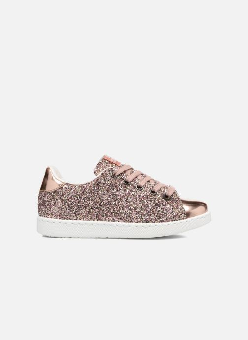 Sneakers Victoria Deportivo Basket Glitter Roze achterkant