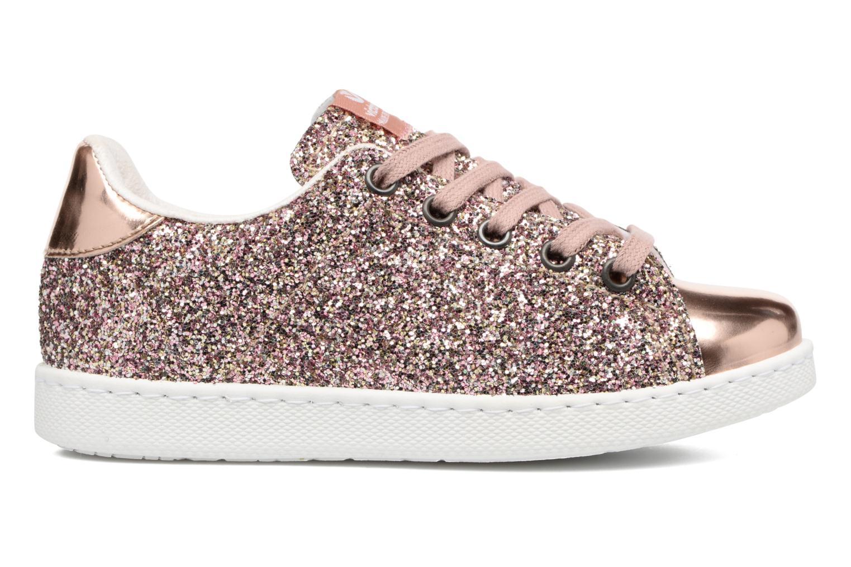 Sneaker Victoria Deportivo Basket Glitter rosa ansicht von hinten